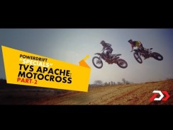 TVS Apache Motocross Part 2 : PowerDrift