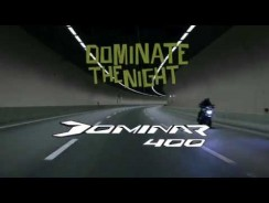 Bajaj Dominar 400 Official Promo Video- Dominate the night